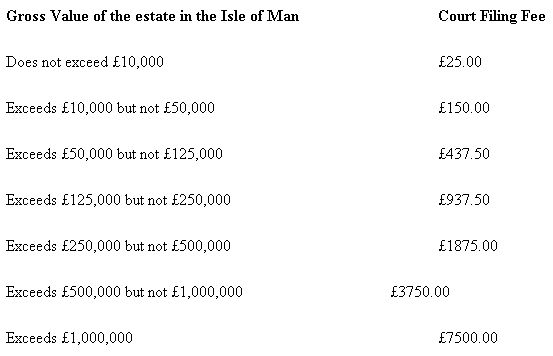 Probate In The Isle Man Family and Matrimonial Isle of Man