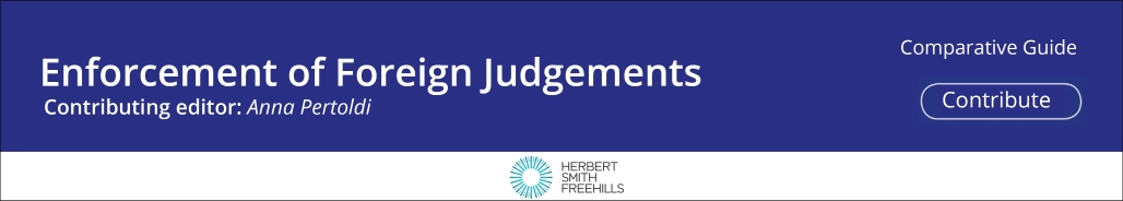 Recognition & Enforcement of Foreign Judgements