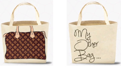 In 2017 Louis Vuitton Filed Suit Against My Other Bag U S District Court For The Southern Of New York Alleging That Use