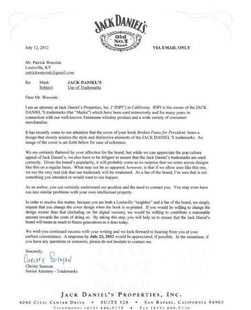 Friendly Foes–Trademark Cease And Desist Letters Are Filled ...