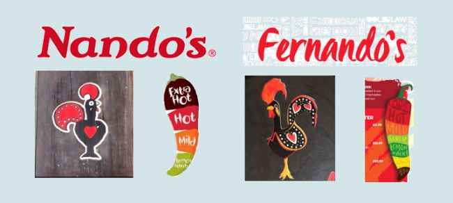 For Nando's And Fernando's: Independent Restaurant Accused