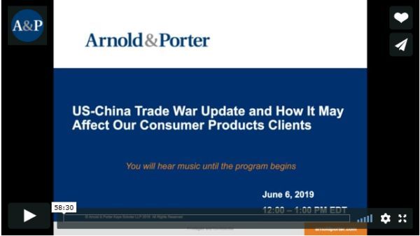 US - China Trade War Update And How It May Affect Our