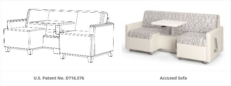 Peachy Itc Rejects Sofa Design Patent Infringement On Prosecution Machost Co Dining Chair Design Ideas Machostcouk